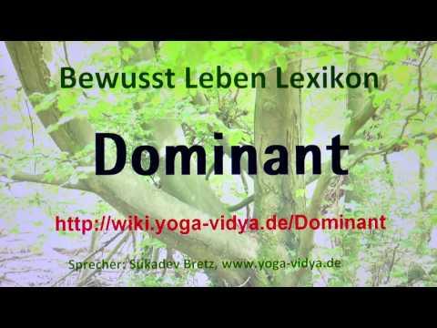 dominant bedeutung