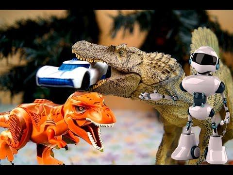 3 серии подряд. Мультики про роботов и динозавров. Мультик про тачки. Видео для детей