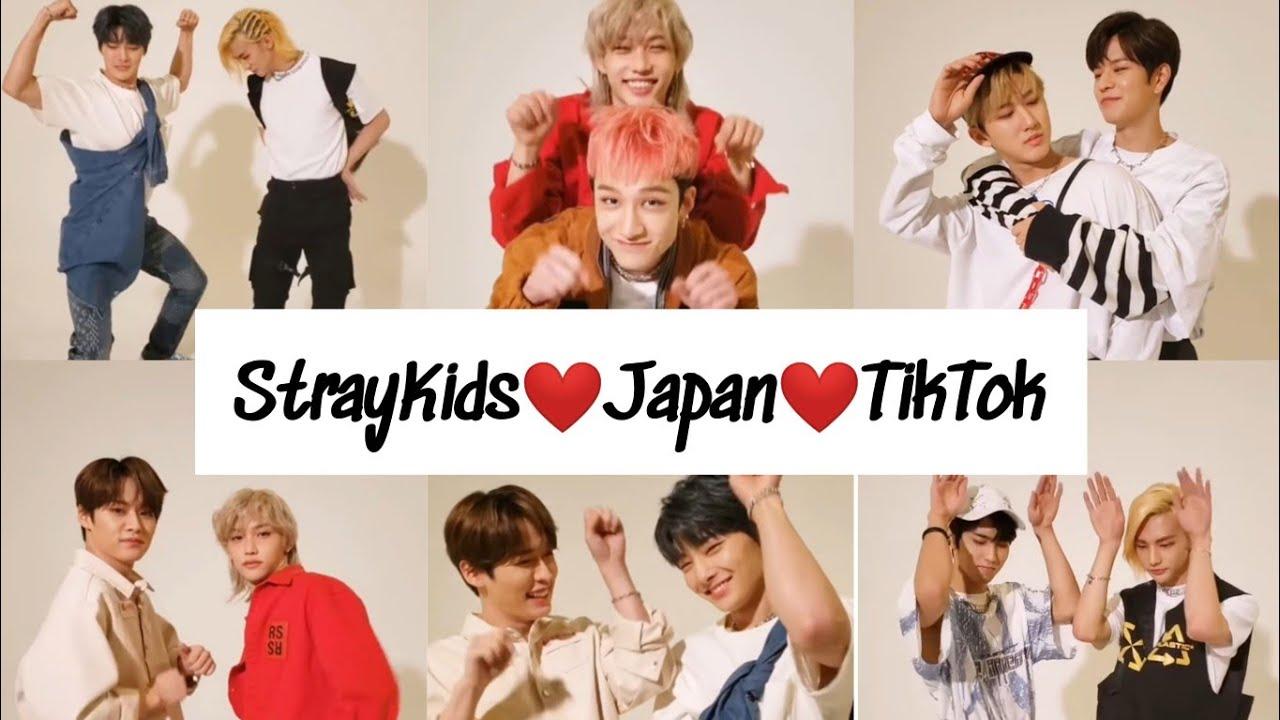 Tiktokまとめ Stray Kids Japan Official Tiktok English Sub Youtube