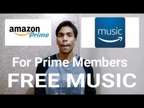 FREE Music for Prime Members!! Amazon Music - download it now!