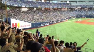 この日より使用開始。 元大阪近鉄バファローズの永池選手の流用です。 ...
