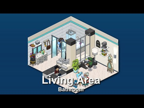 How To Build A Habbo Bathroom Youtube