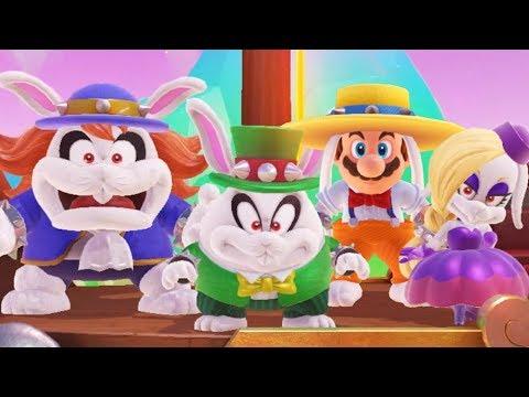 Super Mario Odyssey  Rango Outfit Gameplay DLC case