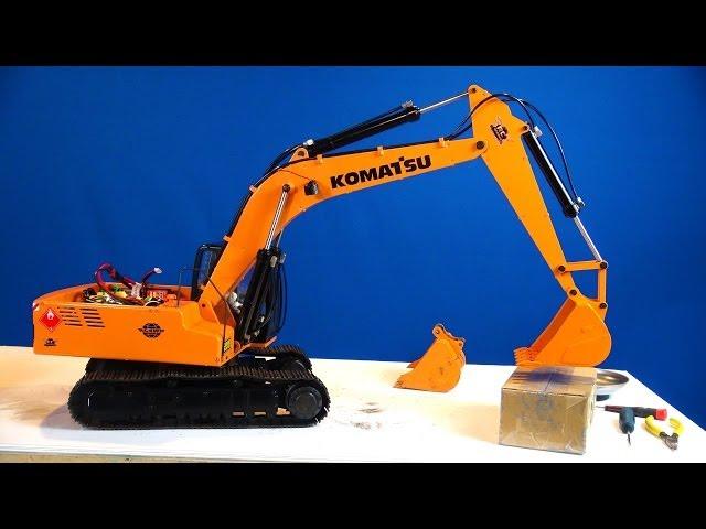 RC ADVENTURES - Siberia Super Duty Bucket for Earth Digger 4200XL Hydraulic RC Excavator