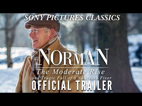 Norman: The Moderate Rise and Tragic Fall of a New York Fixer | Official Trailer HD (2017)
