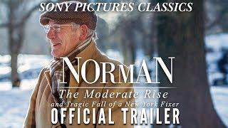 NORMAN: THE MODERATE RISE AND TRAGIC FALL OF A NEW YORK FIXER (2017) Official HD Trailer