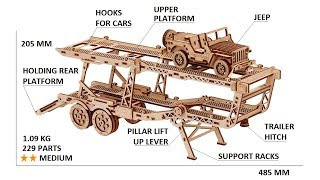 "Assembly of model ""Car trailer"""