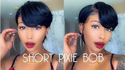 Cheap Short Pixie Bob Wig Only $79| Ft. OMGHERHAIR
