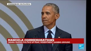 """Barack Obama praises French football team diversity: """"Not all of those folks look like Gauls to me"""""""