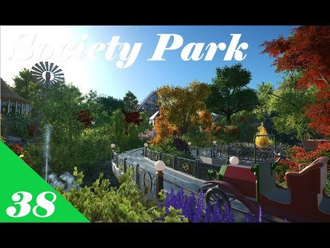 Planet Coaster | Society Park Part 38 | Water and Cars