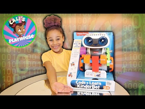 Learn With Cali | Code 'n Learn Kinderbot | Cali's Playhouse