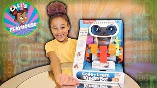 Learn with Cali | Code 'n Learn Kinderbot | Cali's Playhouse