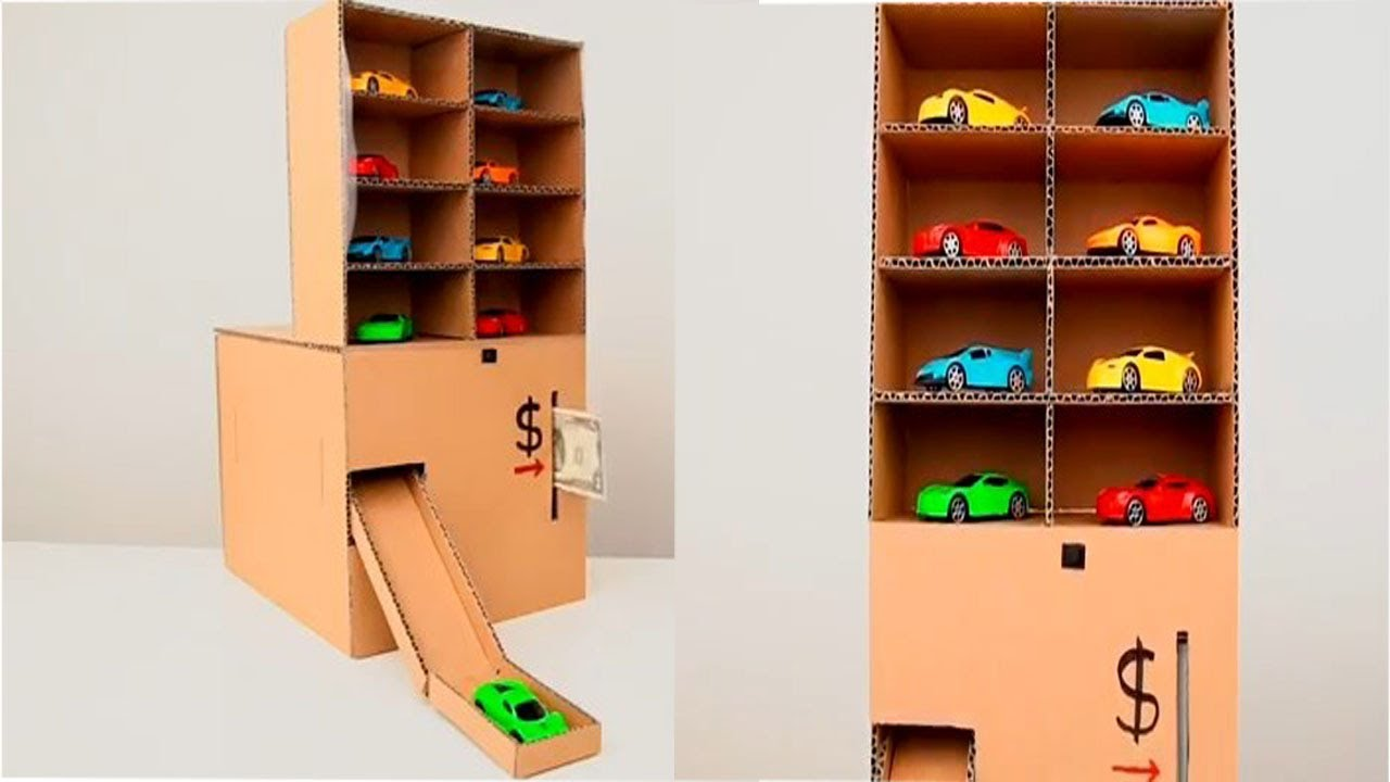 Download How to Make Awesome Car Vending Machine with Cardboard