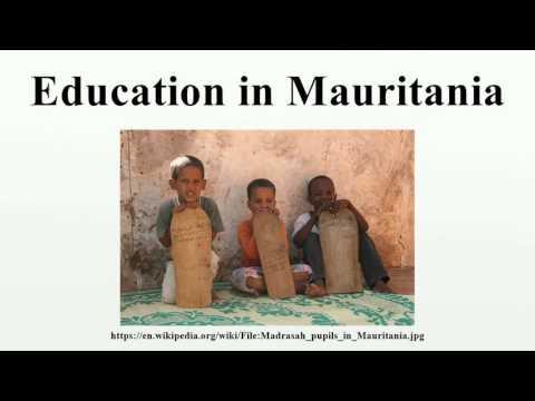 Education in Mauritania