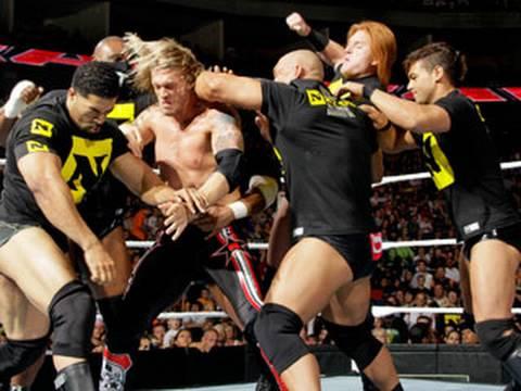 Raw: The Nexus targets Edge and Chris Jericho