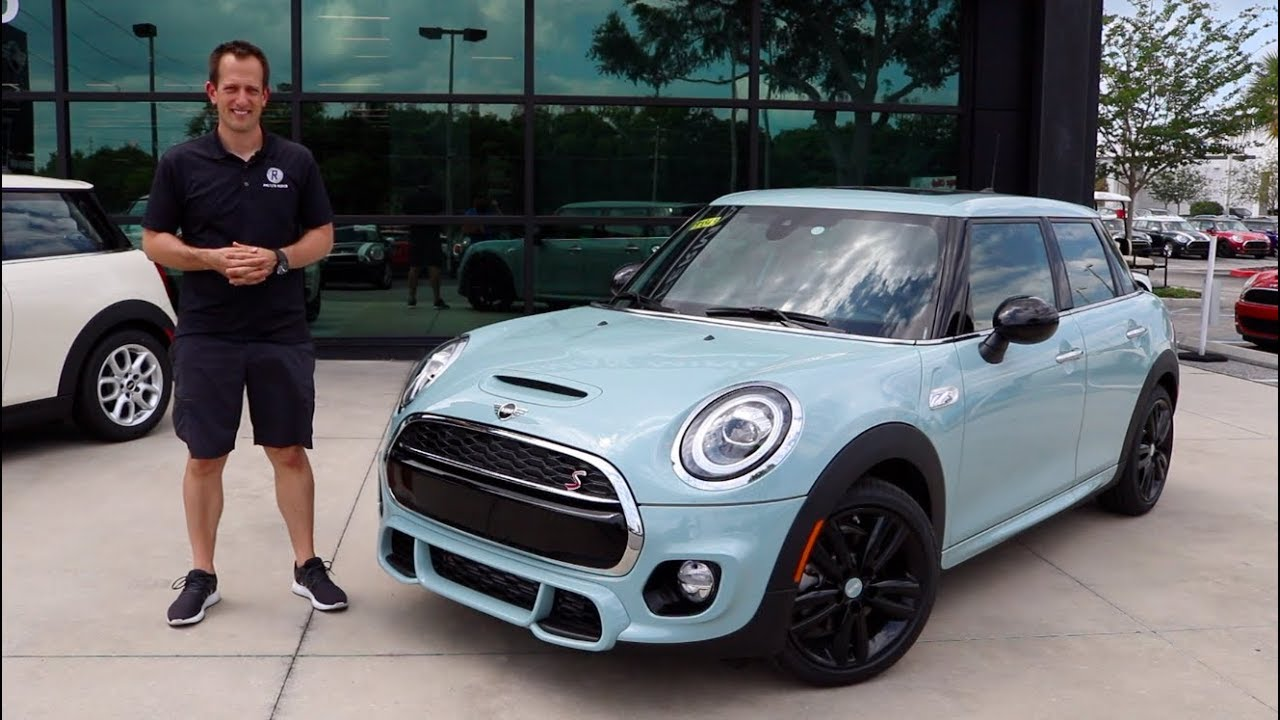 Ice Blue Mini Cooper >> Is The 2019 Mini Cooper S Ice Blue Edition A Fun Hot Hatch To Buy