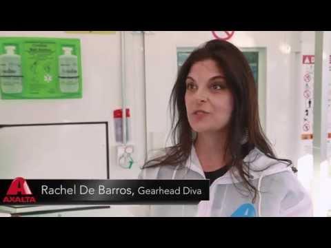 Axalta Cromax® Pro Waterborne Basecoat Celebrity Paint Event – Rachel De Barros Interview