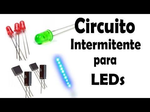 dibujo del secuenciador de luces LED Electrnica y