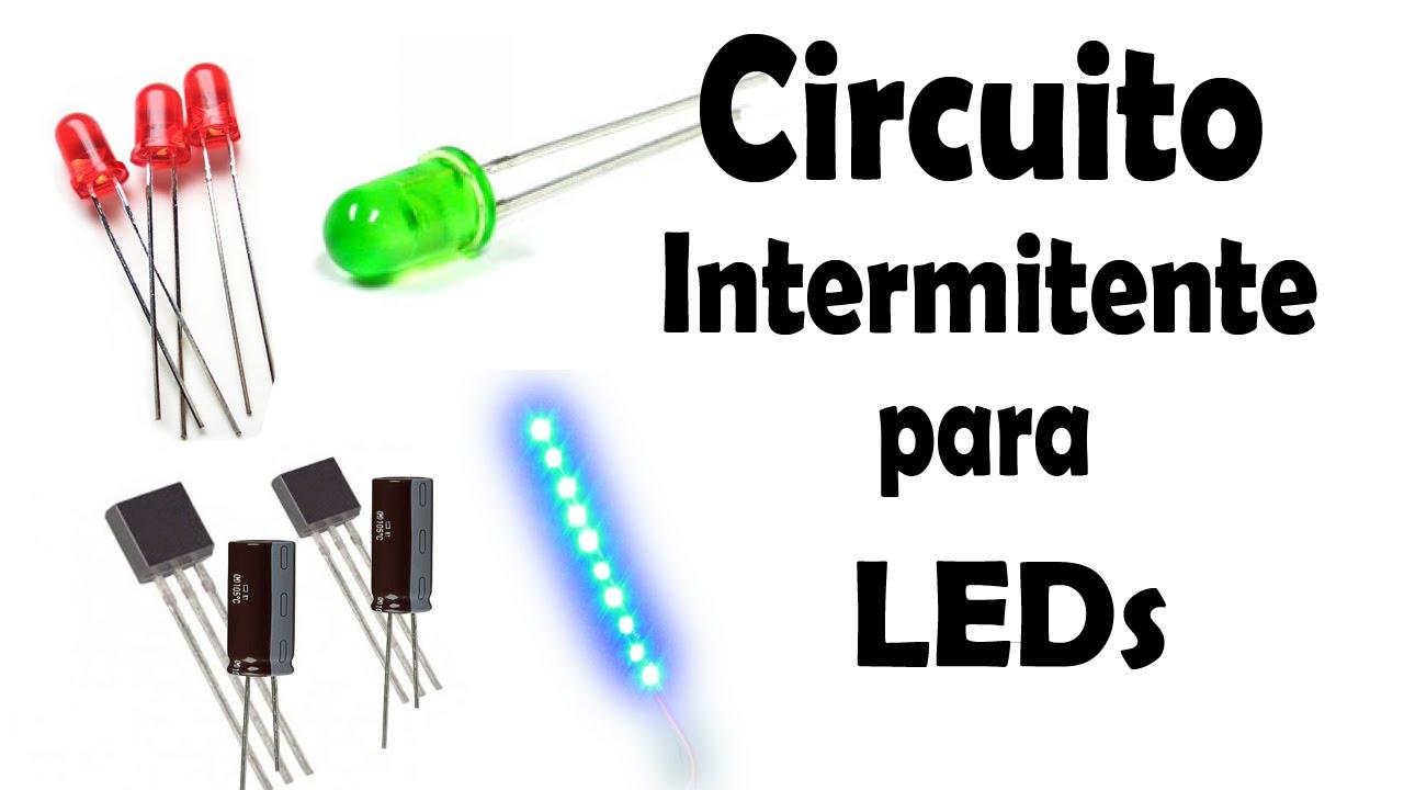 Circuito Led Intermitente : Cómo hacer un circuito intermitente para leds y tiras led