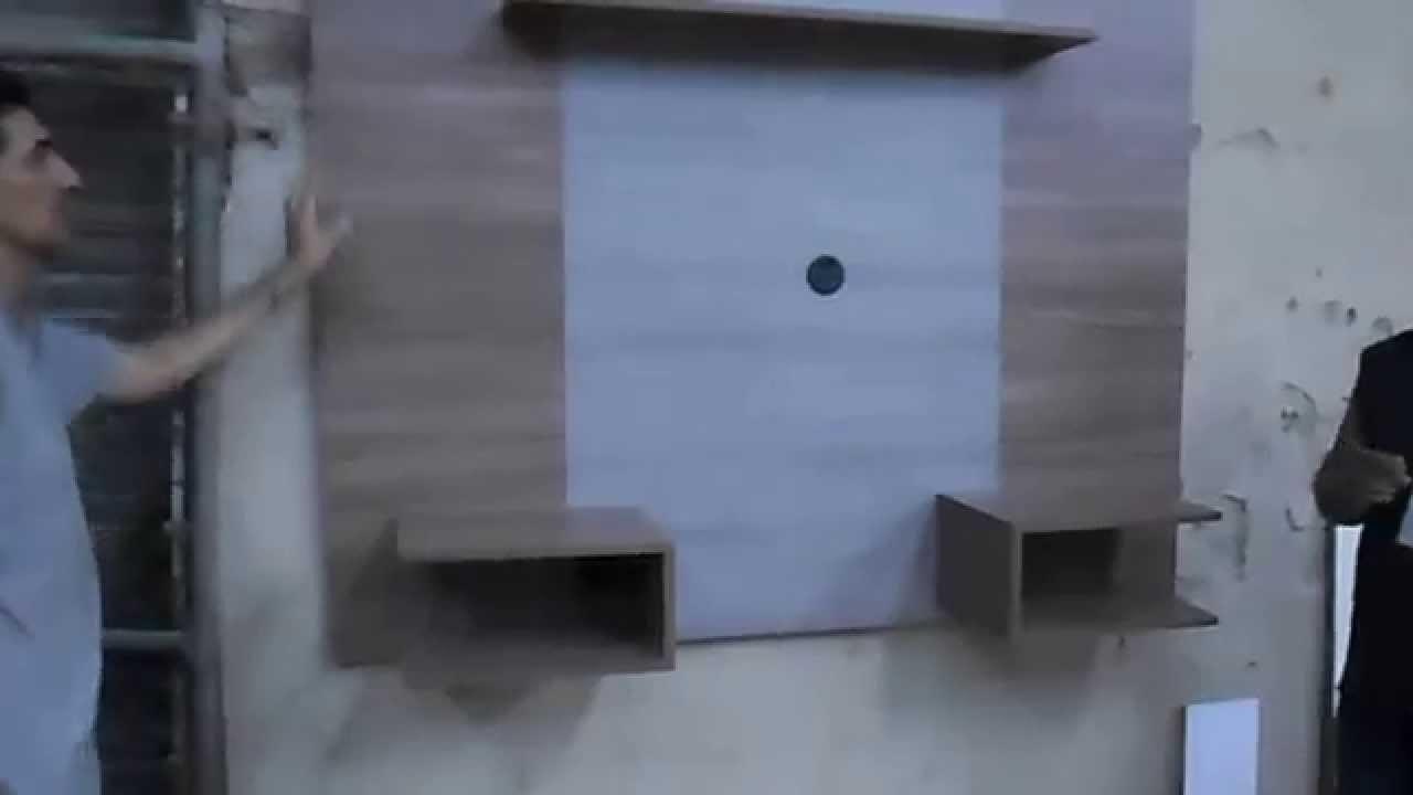 Como poner un panel para pantalla youtube - Colgar la tele en la pared ...