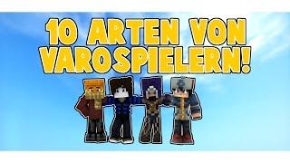 10 ARTEN von VARO SPIELERN!
