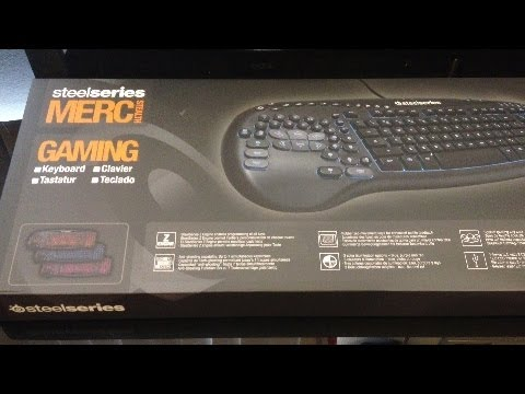 SteelSeries Merc. Stealth Keyboard Unboxing & Overview