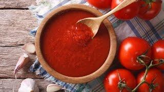 টমেটো সসের রেসিপি | Tomato Ketchup Recipe | Tomato Sauce Recipe | Homemade Tomato Sauce |টমেটো কেচাপ