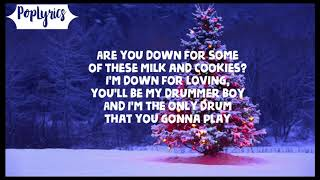 Ariana Grande - Wit It This Christmas (Lyrics)