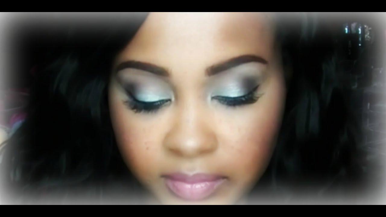 Mint green eyeshadow makeup tutorial smokey eye pink nude mint green eyeshadow makeup tutorial smokey eye pink nude lip kimmy boutiki baditri Images