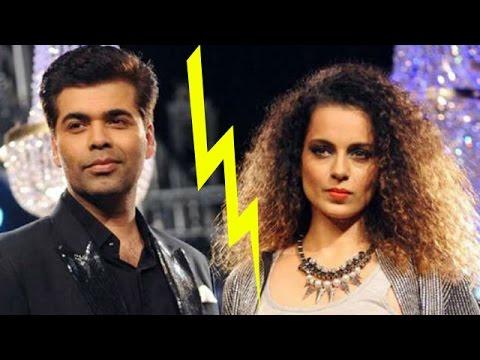 Kangana Ranaut Replies To Karan Johar's Comments | Bollywood News