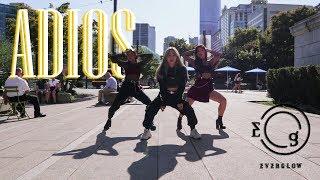 【KPOP IN PUBLIC】 EVERGLOW (에버글로우) - Adios DANCE COVER | ANSON X BRENDA X NANCY