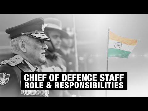 Chief Of Defence Staff: Role And Responsibilities Of CDS Explained | ETDefence