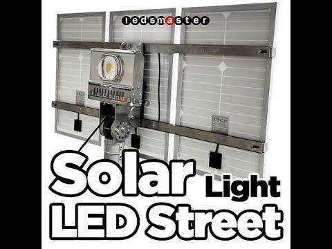 Solar Powered Street Lights from Ledsmaster
