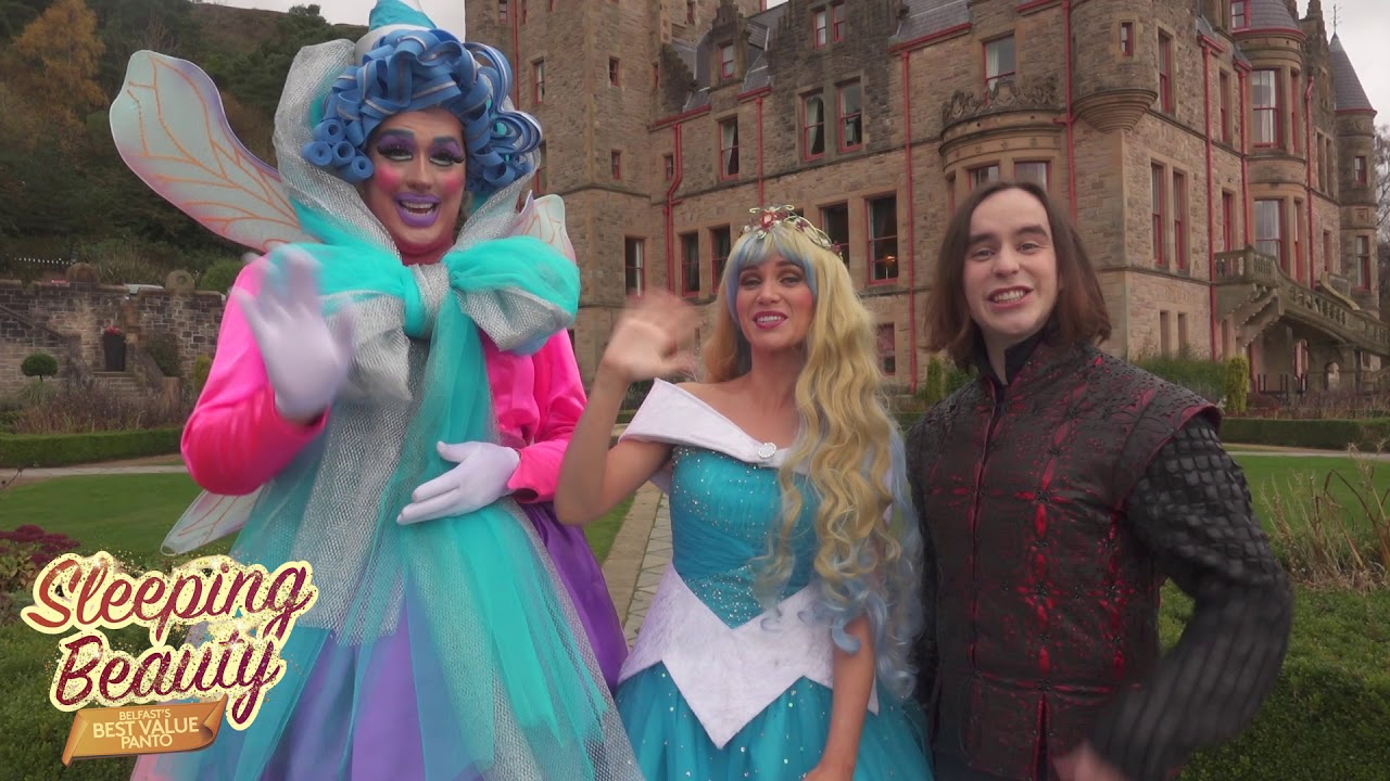 Say hello to our fabulous Sleeping Beauty Panto cast!