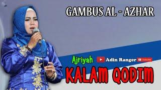 Koleksi Terbaik   KALAM QODIM   Ajriyah   Gambus Al - Azhar Cover   Adin Ranger