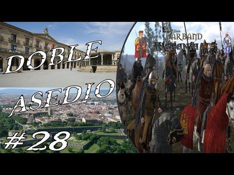 Mount & Blade Warband Hispania 1200 #28 Asalto de Pamplona y Tafalla GAMEPLAY ESPAÑOL