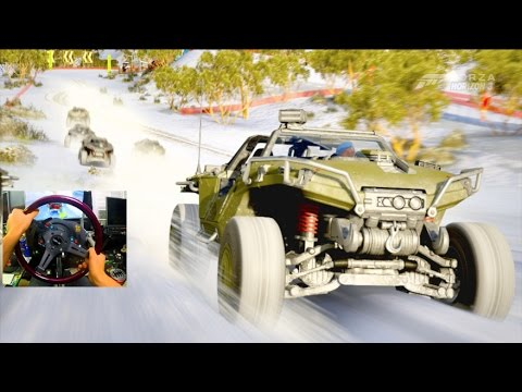 FH3 BLIZZARD MOUNTAIN LP Ep4 - Halo Warthog VS Snow