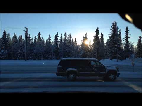 Driving around Kenai Alaska