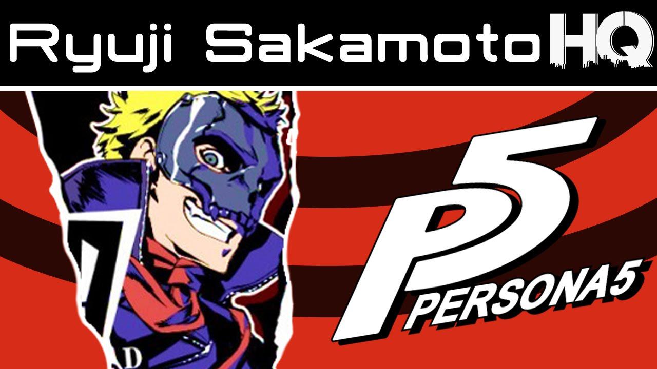 Persona 5 Character Profile 3 Ryuji Sakamoto