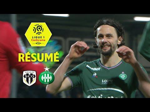 Angers SCO - AS Saint-Etienne (0-1)  - Résumé - (SCO - ASSE) / 2017-18