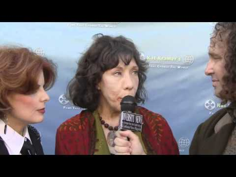 Exclusive: Harrison Held interview Lily Tomlin and Kat Kramer at Teach Your Children Well film premi