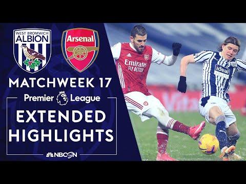 West Brom v. Arsenal | PREMIER LEAGUE HIGHLIGHTS | 1/2/2021 | NBC Sports