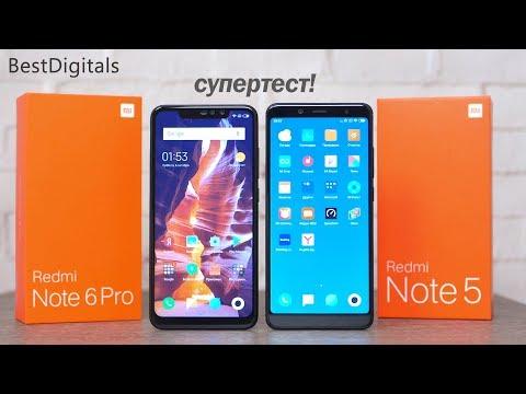 Обзор Xiaomi Redmi Note 6 Pro Vs Redmi Note 5 - в чём разница?