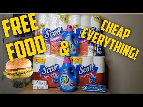 FREE FOOD! Plus Dollar General Deals ! 3 Scenarios Paper & Digital coupons