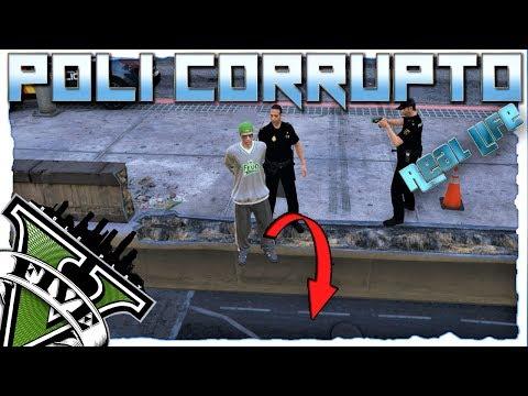 GTA V ReaL life Role Play | POLI CORRUPTO ( LO TIRO DEL PUENTE❓❓)