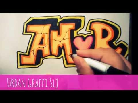 como dibujar graffitis de amor como dibujar letras graffitis