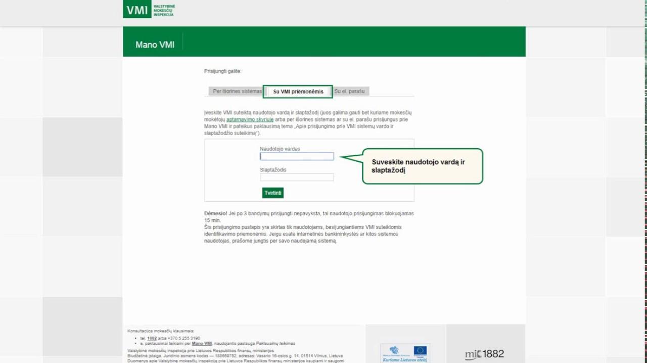 akcijų pasirinkimo mokesčių deklaracija)