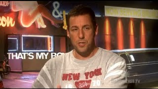 Adam Sandler and Andy Samberg Interview for THATS MY BOY
