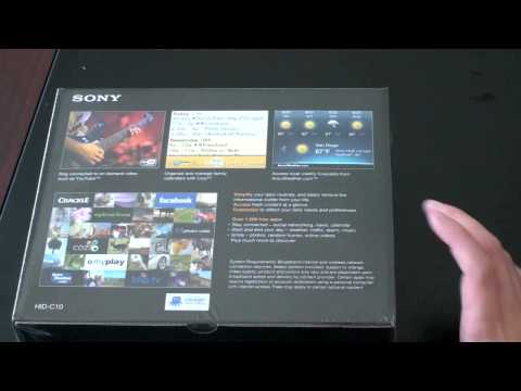 Unboxing The Sony Dash Personal Internet Viewer