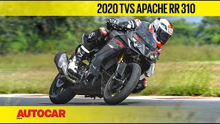 2020 TVS Apache RR 310 BS6 Review | Track Ride | Autocar India